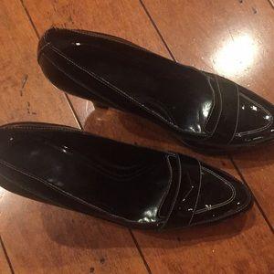 Enzo Patent Leather Platform heels